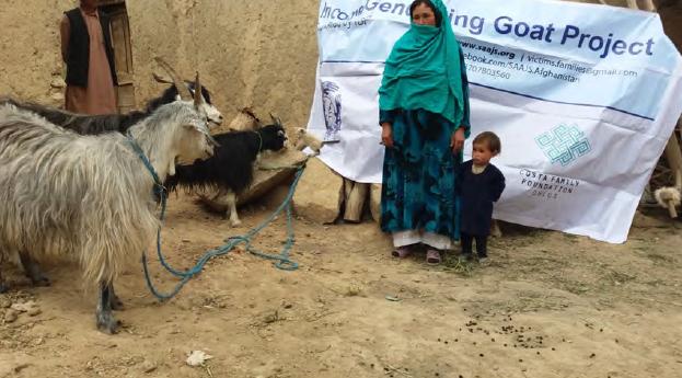 Regala una capra 2016 il report costa family foundation for Cattura per capre